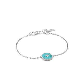 Turquoise Emblem Bracelet