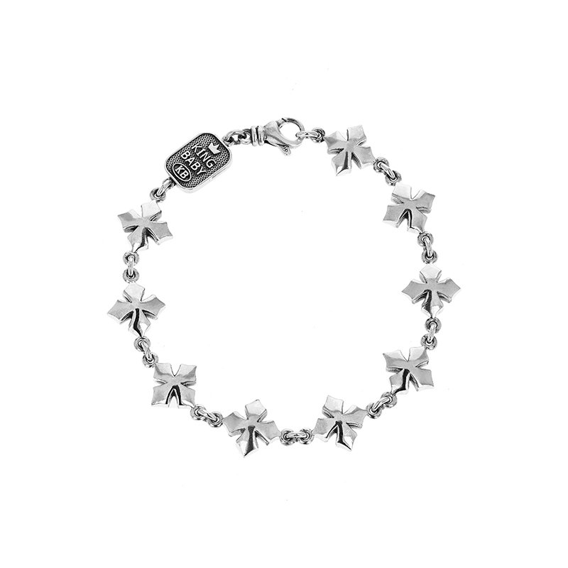 King Baby Cross Chain Bracelet