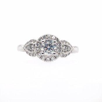 Round Multi Stone Diamond Ring