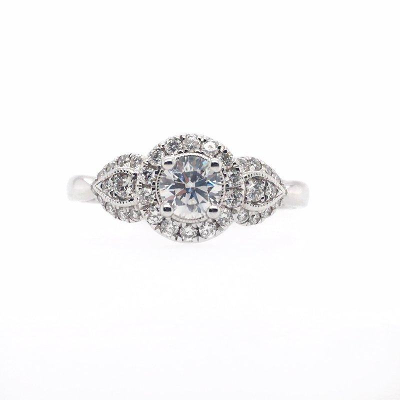 Gems One Round Multi Stone Diamond Ring