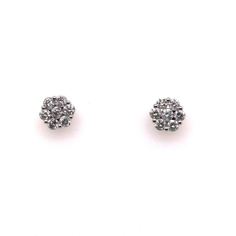 Gems One Diamond Bouquet Stud Earrings