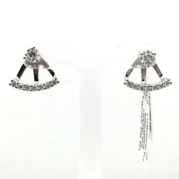Round Diamond Earring Jackets