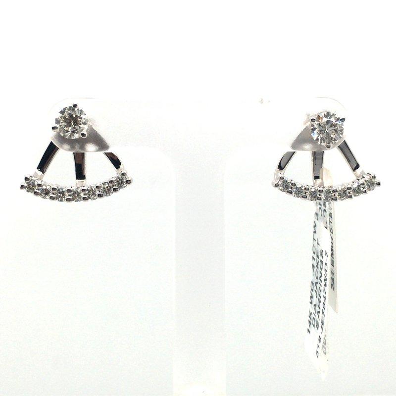 Variety Gem Round Diamond Earring Jackets