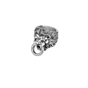 Lions Head Ring