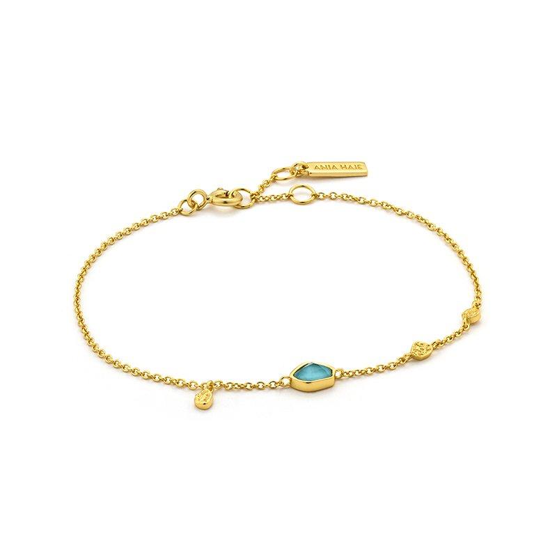 Ania Haie Turquoise Discs Bracelet