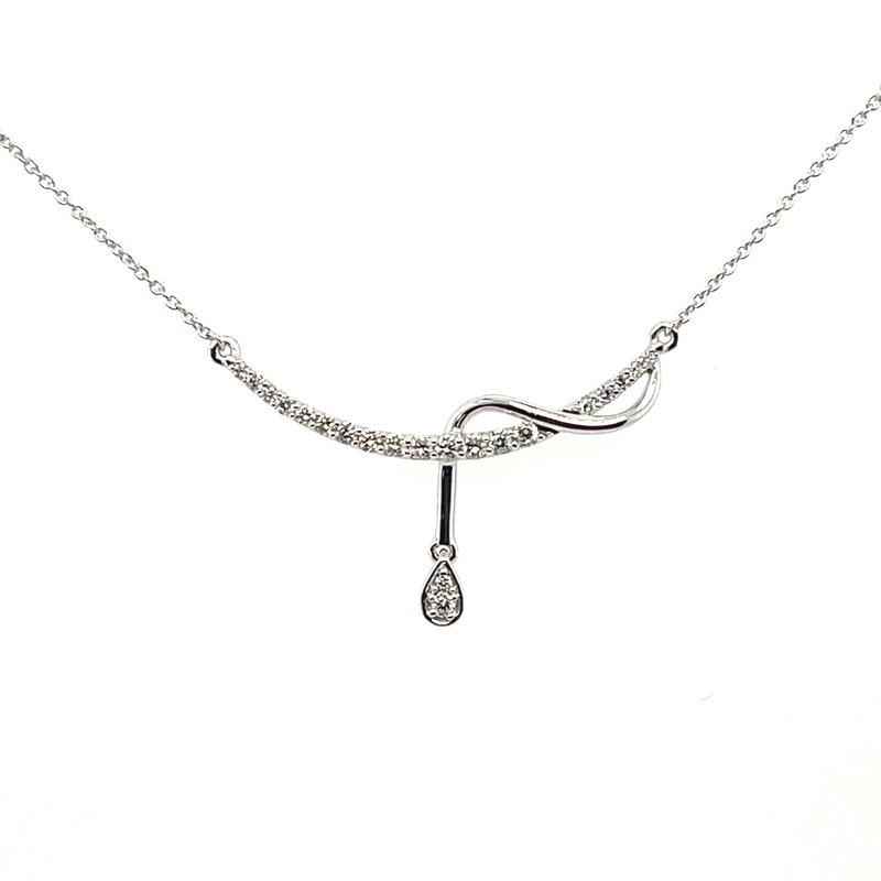 Variety Gem Diamond Bar Necklace