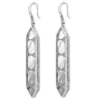 Eleganza Mother of Pearl Earrings