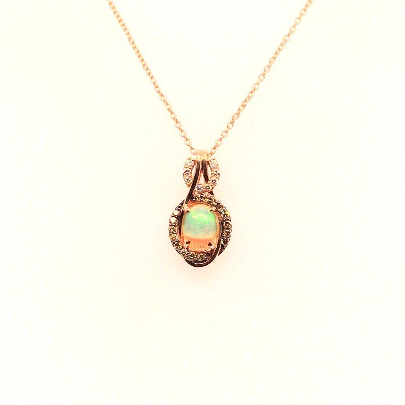 Le Vian Levian Diamonds & Neopolitan Opal Pendant