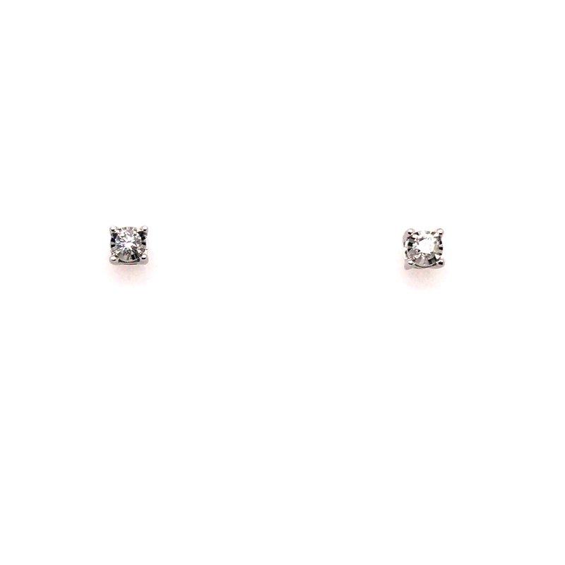 Gems One True Reflections Diamond Stud Earrings