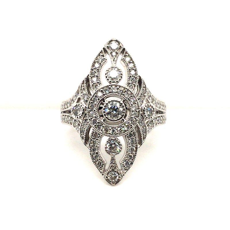 Variety Gem Diamond Vintage Fashion Ring