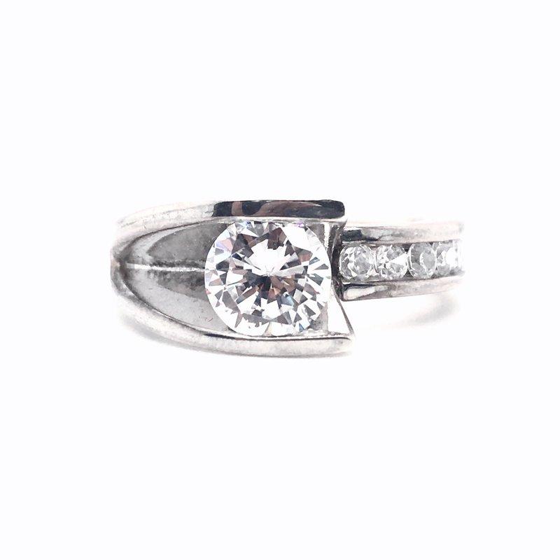 Frank Reubel Frank Reubel Designer Bridal Semi-Mounting Center Band Ring