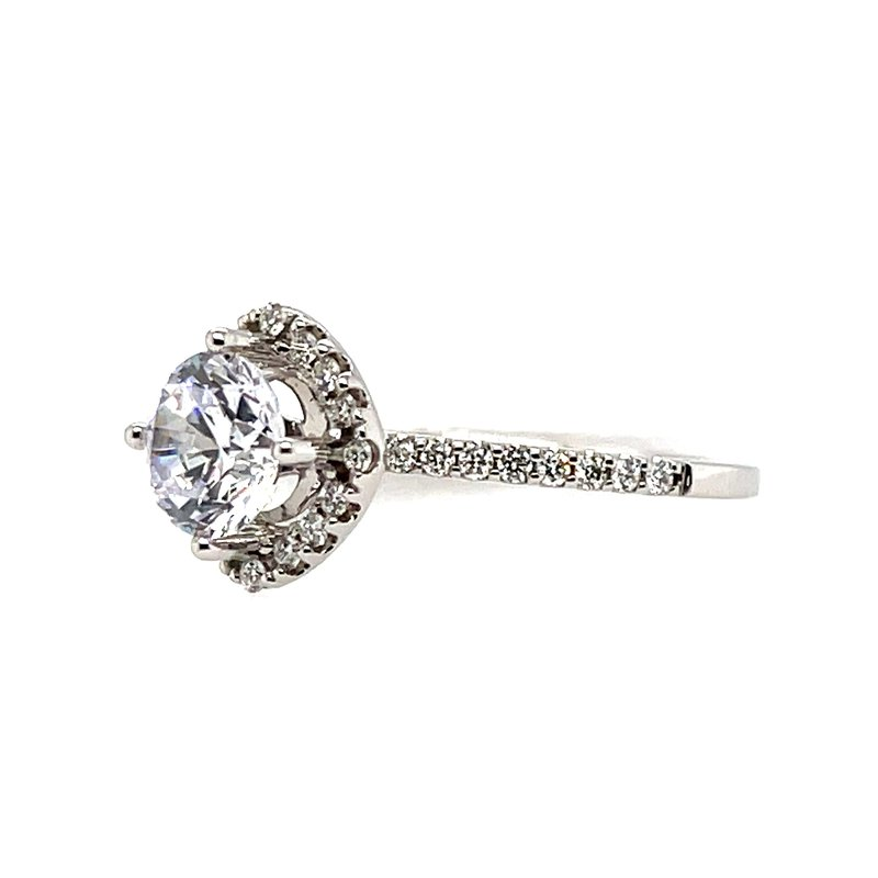 Kim International Romance Semi-Mounting --Center Ring