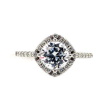 Romance Semi-Mounting --Center Ring