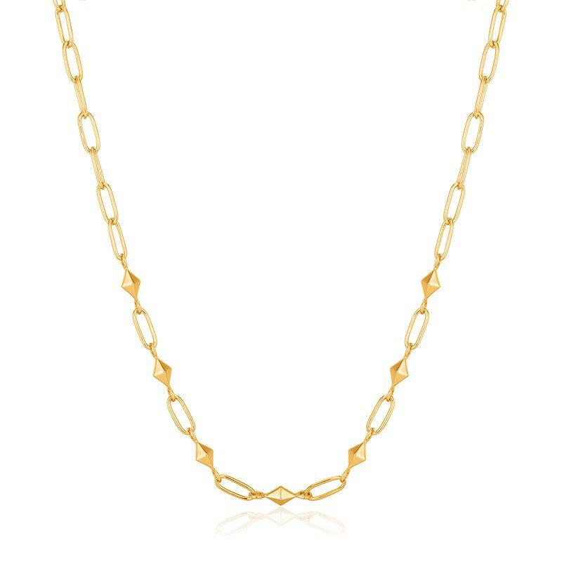 Ania Haie Gold Heavy Spike Necklace