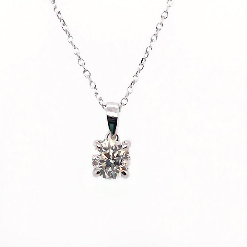 Gems One Diamond Solitaire Pendant