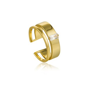 Glow Wide Adjustable Ring