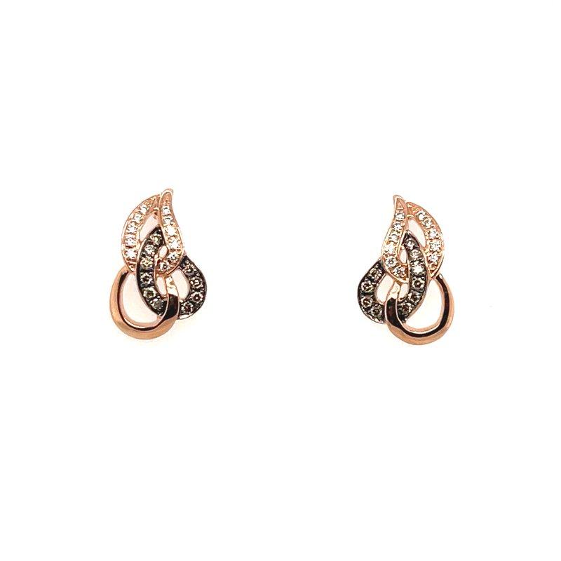 Le Vian Levian Rose Gold Diamond Earrings