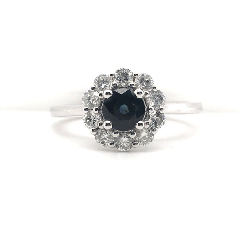 Gems One Diamond and Sapphire Ring