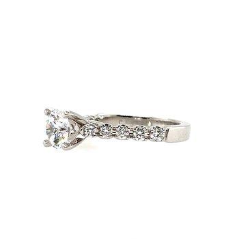 Romance Semi-Mounting Center Ring