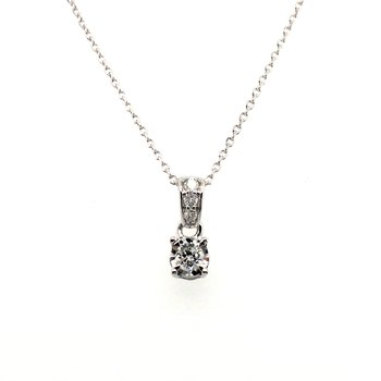 True Reflections Diamond Pendant