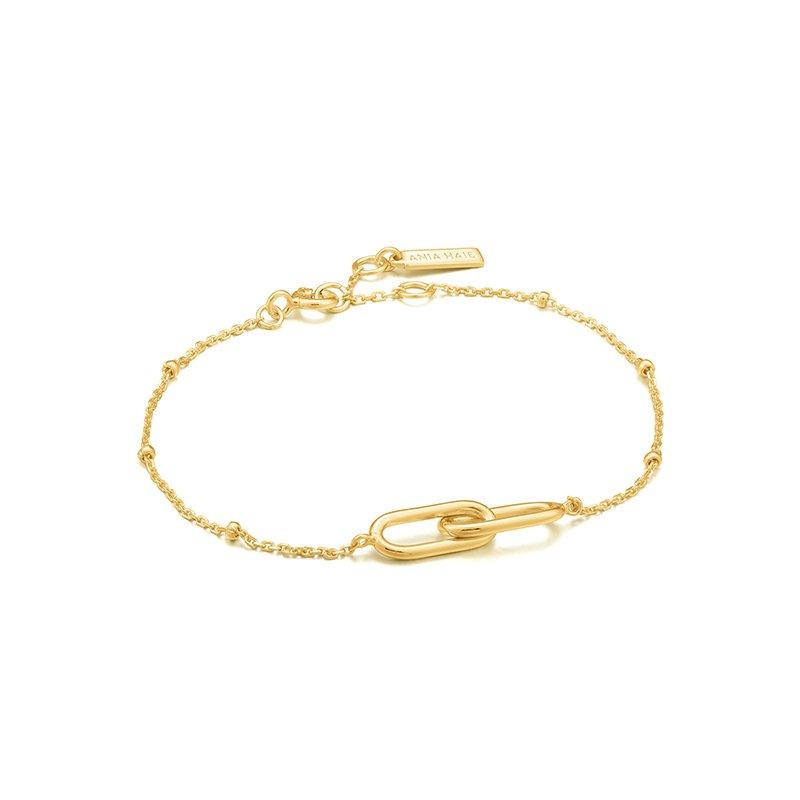 Ania Haie Beaded Chain Link Bracelet