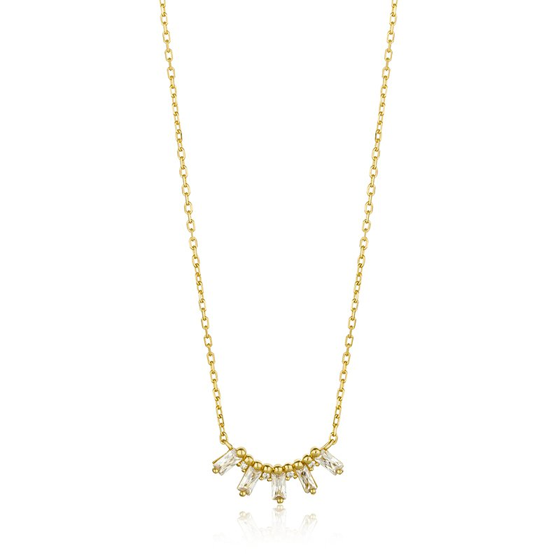 Ania Haie Glow Solid Bar Necklace