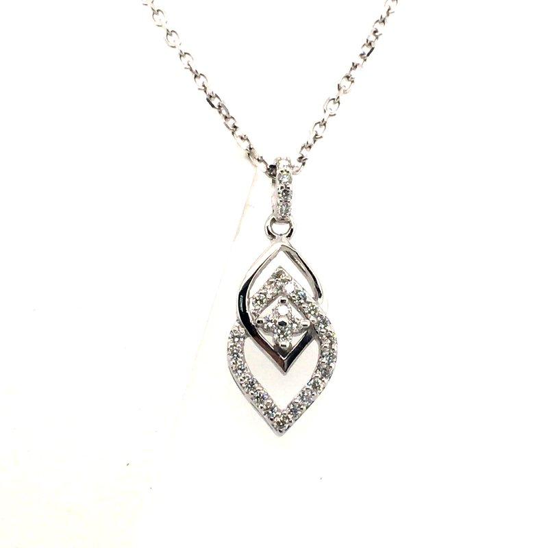 Variety Gem Vintage Diamond Pendant
