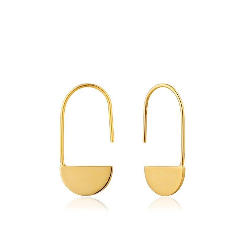 Ania Haie Geometry Class Geometric Hook Earrings