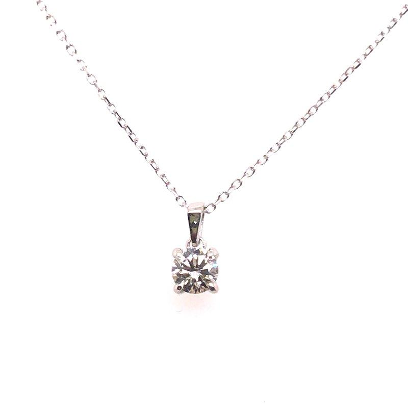 Gems One Solitaire Diamond Pendant