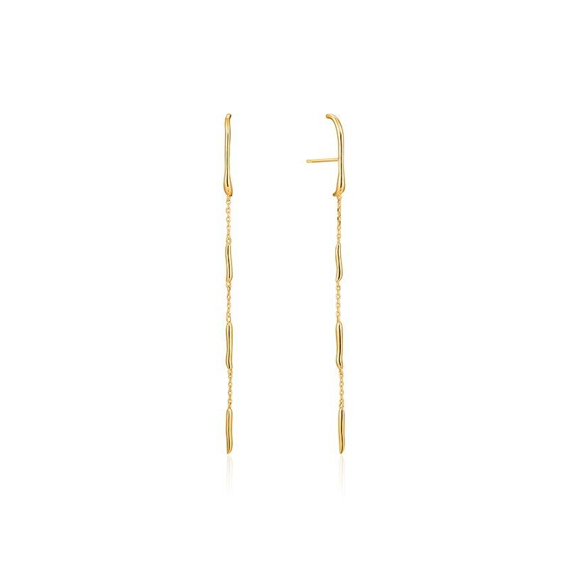 Ania Haie Slinky Drop Earrings