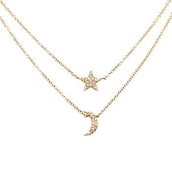 Metal Type: 14 Karat Yellow Gold Stone Weight: 0.09 Carat Diamond