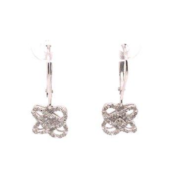 Loves Crossing Diamond Earrings