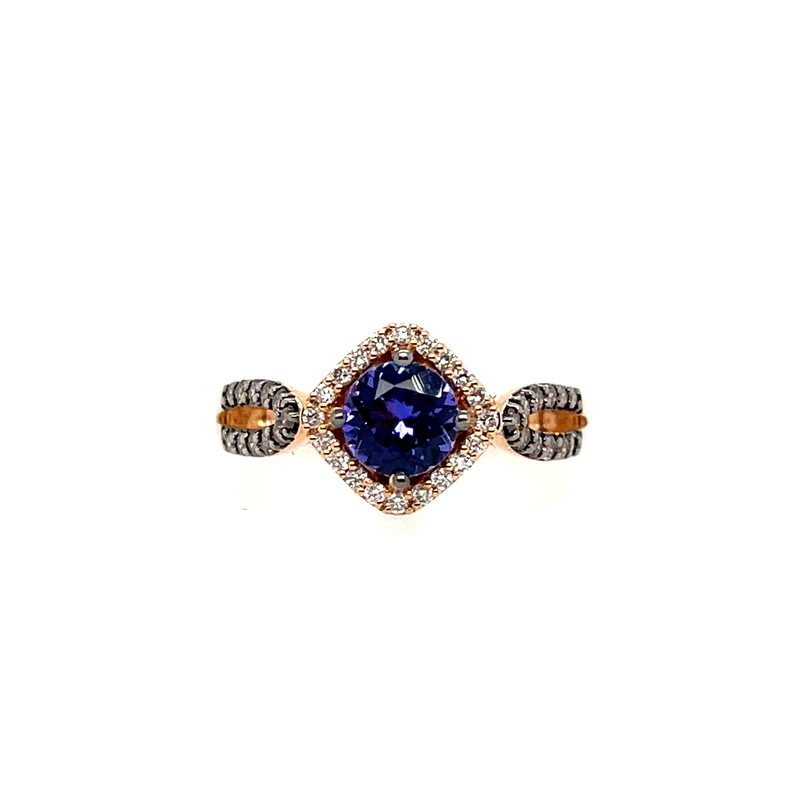 Le Vian Levian Diamonds & Blueberry Tanzanite Fashion Ring