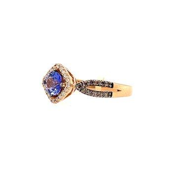 Levian Diamonds & Blueberry Tanzanite Fashion Ring