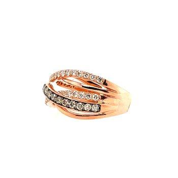 Levian Rose Gold Diamond Ring