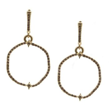 Sueno Organic Front Hoop Earrings