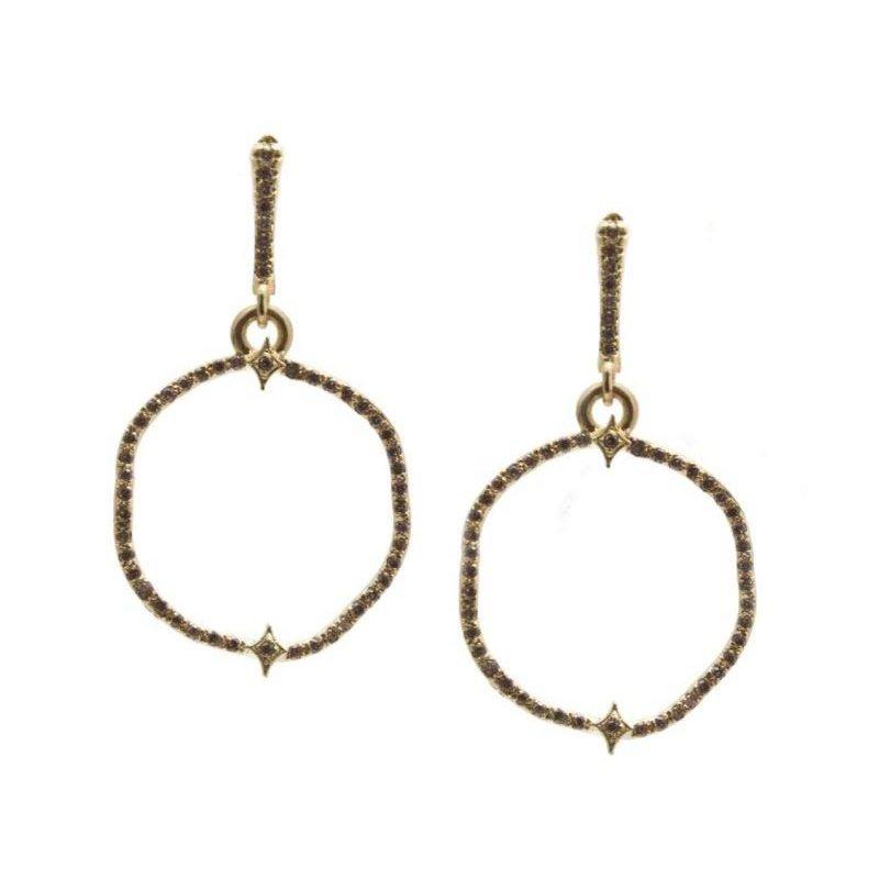 Armenta Sueno Organic Front Hoop Earrings