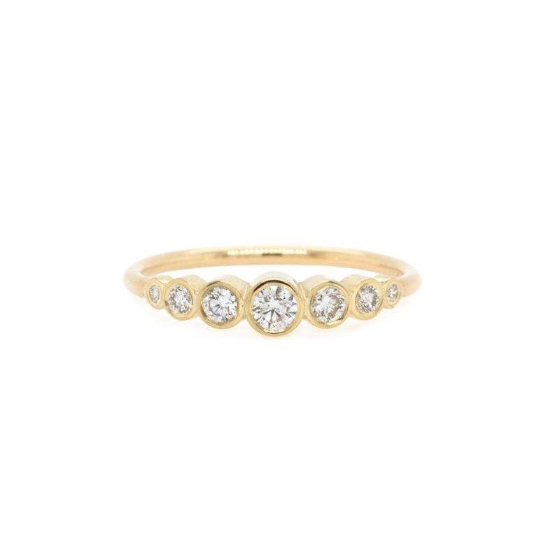 Zoë Chicco Graduated Bezel Diamond Ring