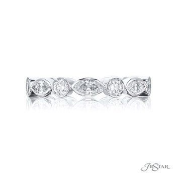 Marquise & Round Brilliant Eternity Band