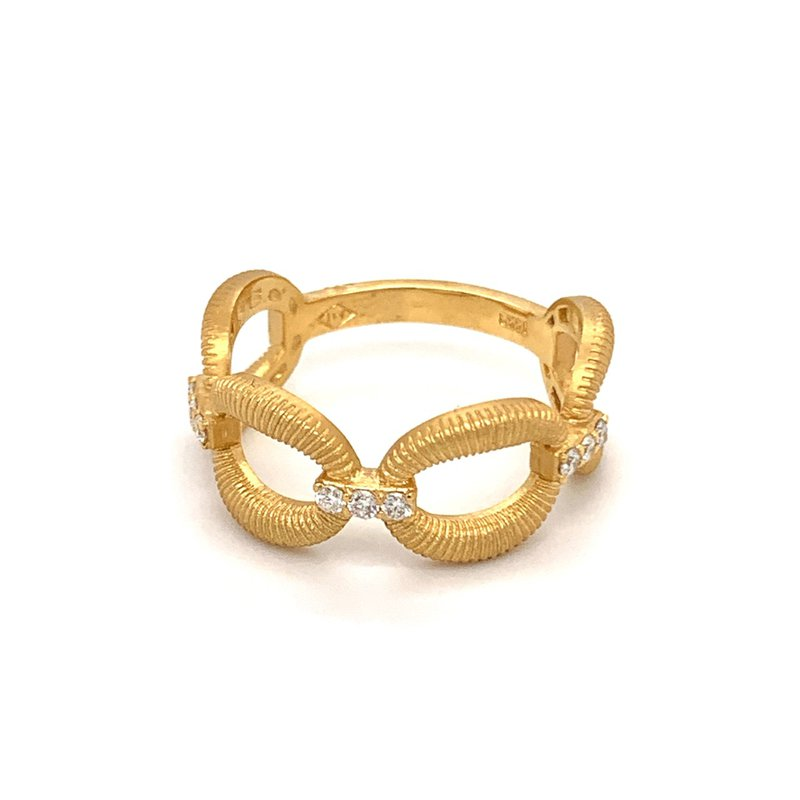 Marika Open Oval Link Ring