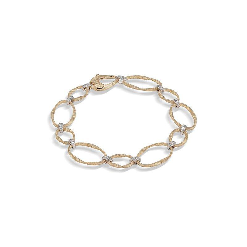Marco Bicego Marrakech Onde Bracelet with Diamonds