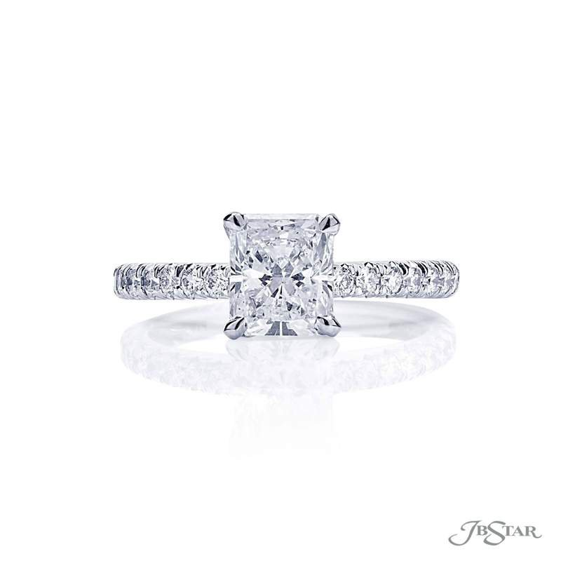 JB Star Radiant Solitaire Engagement Ring