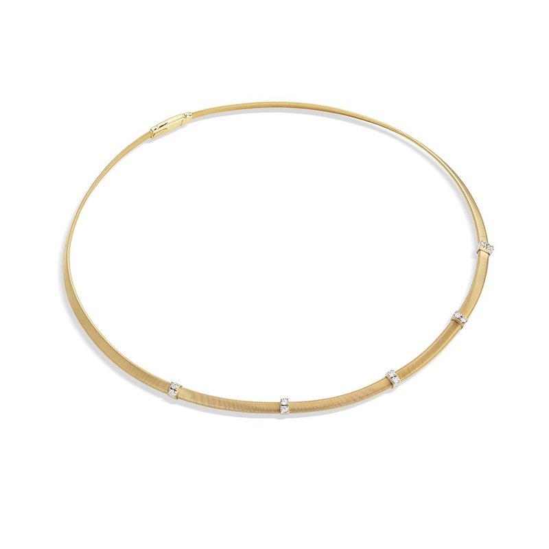 Marco Bicego Masai Diamond Five Station Collar Necklace