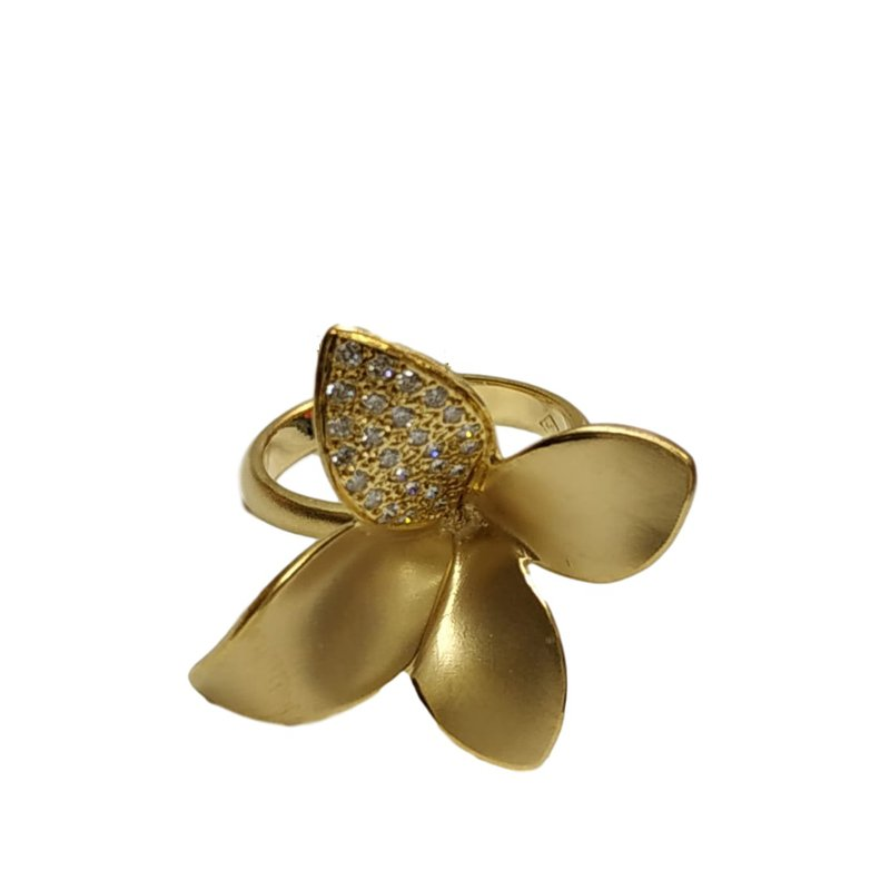 Marika Flower Diamond Ring