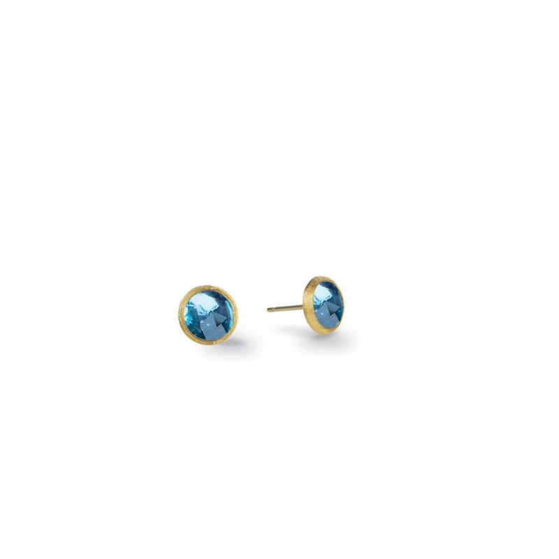 Marco Bicego Blue Topaz Jaipur Petite Stud Earrings