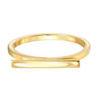 "Engraved ""LOVE"" Bar Ring"