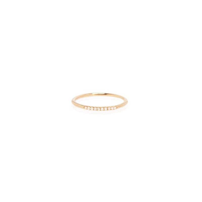 Zoë Chicco In-line Diamond Ring