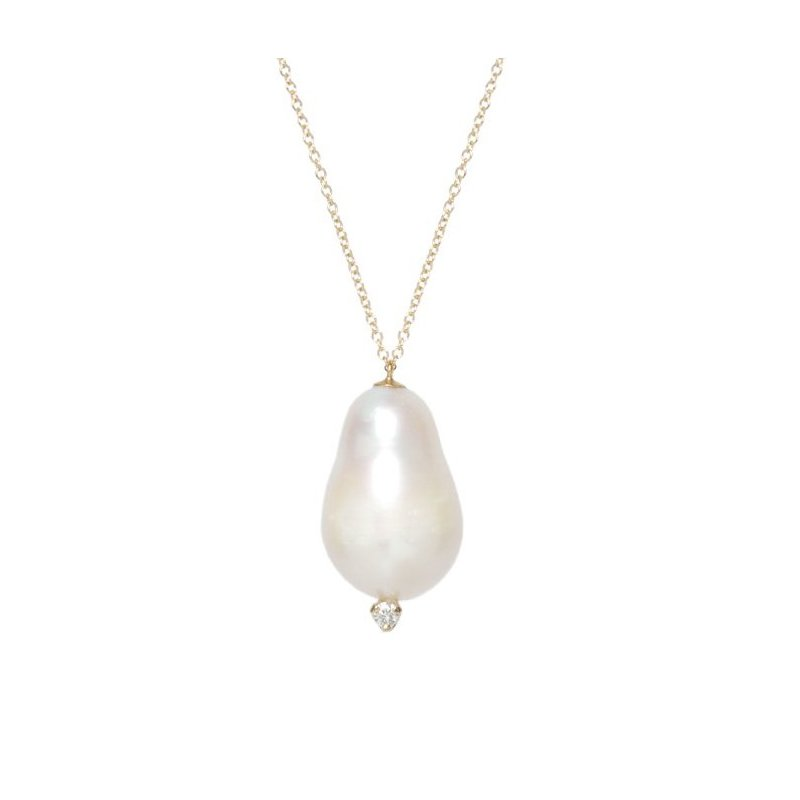 Zoë Chicco Freshwater Baroque Pearl Necklace