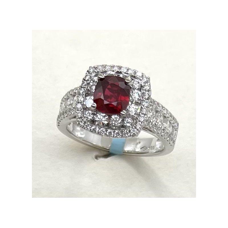 RMJ Signature Ruby & Diamond Ring