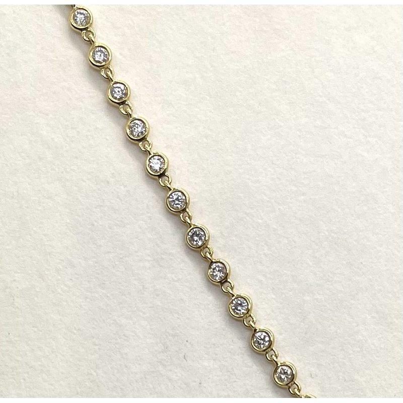 RMJ Signature Diamond link bracelet